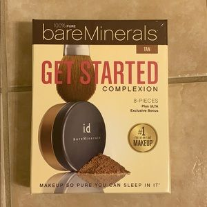 Bare Minerals 8 piece starter kit.